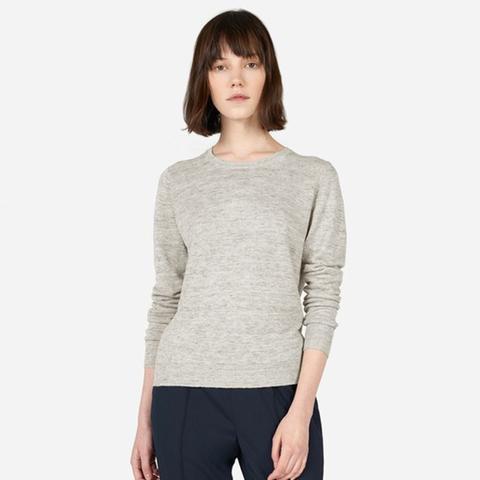 Linen Crew Sweater