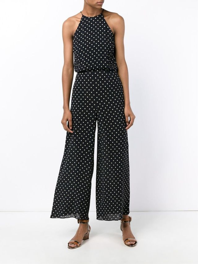 Zimmermann Mischief Polka Dot Jumpsuit