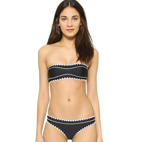 Babe Bandeau Bikini Top and Cheeky Bikini Bottoms