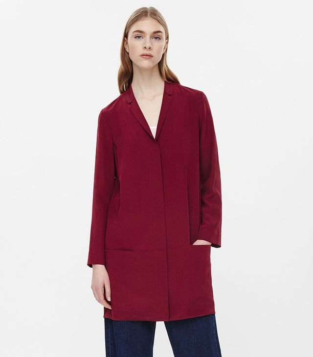 COS Silk Blazer Dress