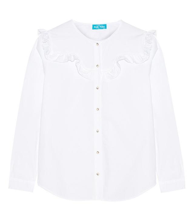 M.i.h Jeans Niki Ruffled Shirt