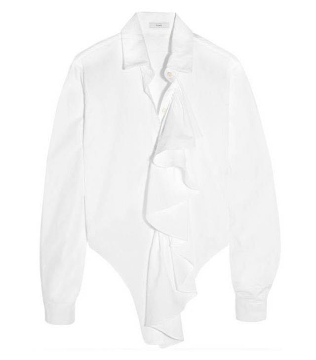 Tome Freedom for All Ruffled Shirt