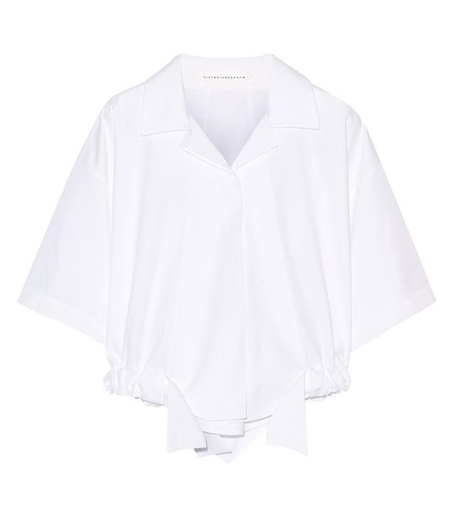 Victoria Beckham Cropped Shirt