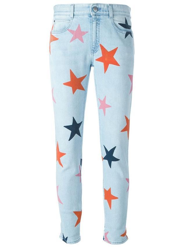 Stella McCartney Skinny Boyfriend Star Jeans