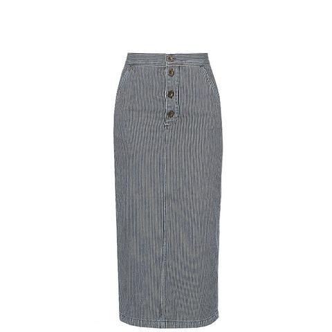 Malo Striped Skirt