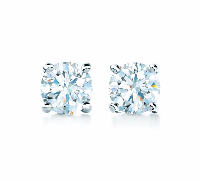 Tiffany & Co. Diamond Earrings