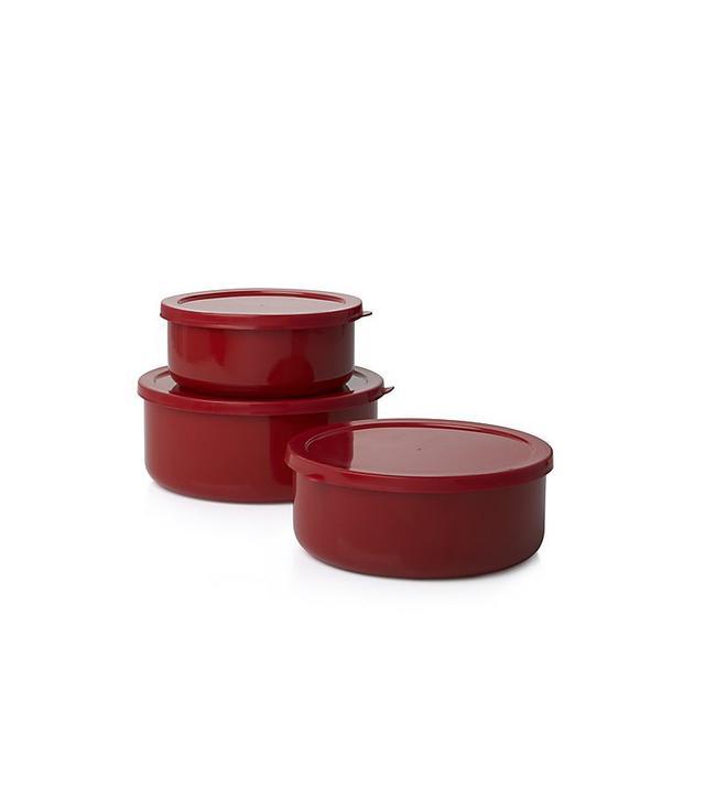 Crate & Barrel Storage Container Set