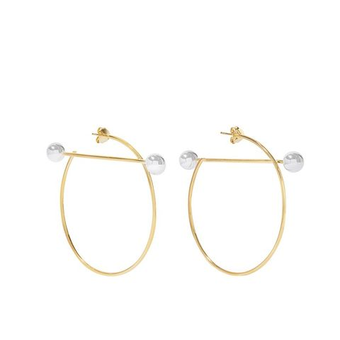 Solar Hoop Earrings
