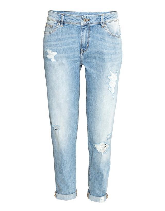 H&M Boyfriend Low Trashed Jeans