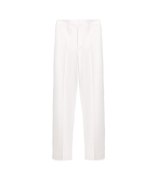 Zara Straight Leg Flowing Trousers