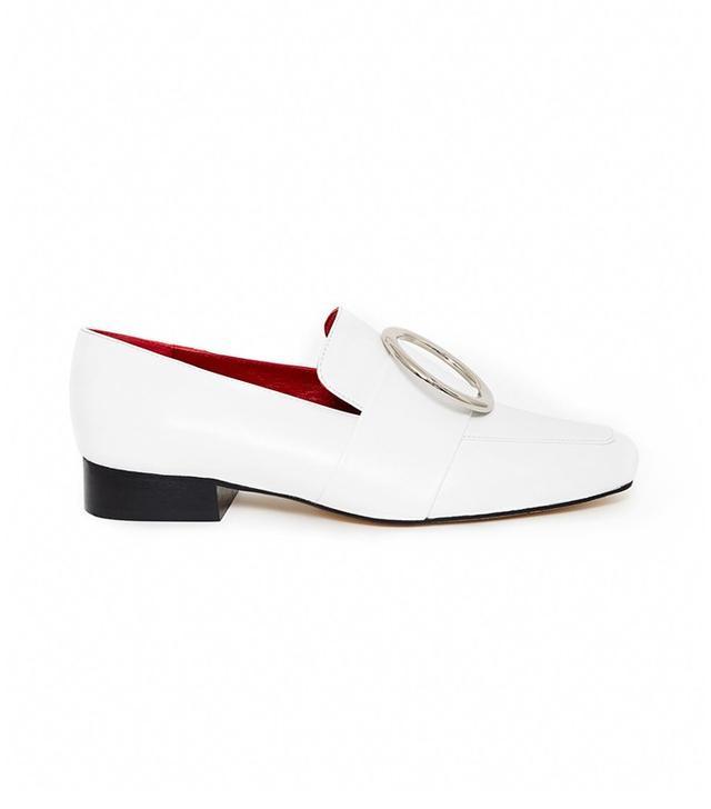 Dorateymur Harput White Nappa Leather Loafers