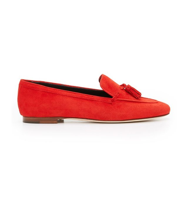 Meandher Connie Tassel Loafers