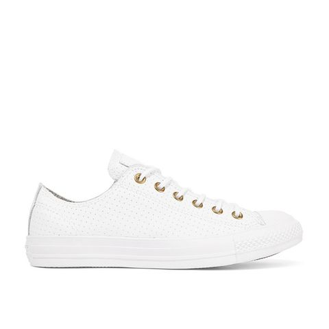 Chuck Taylor All Star Perforated Leather Sneakers