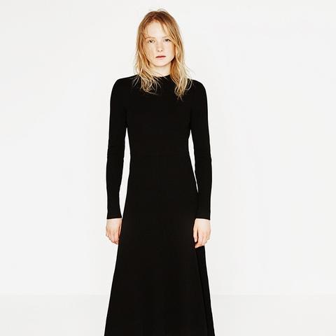 Low-Cut Back Dress