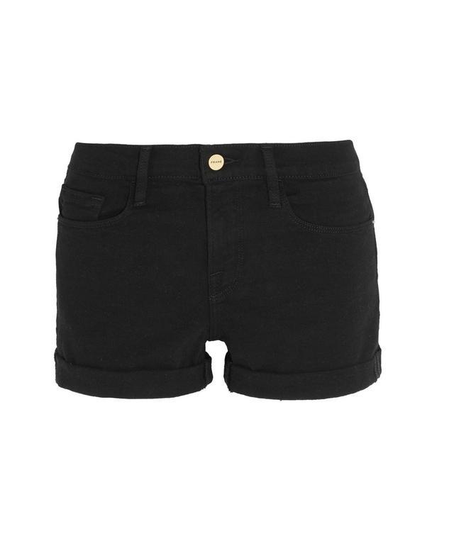 Frame Denim Le Cutoff Stretch-Denim Shorts