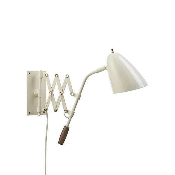 Crate and Barrel Morgan Ivory Sconce