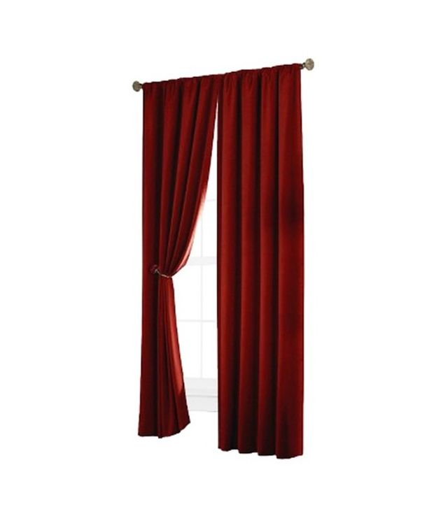 Target Velvet Blackout Curtain Panel