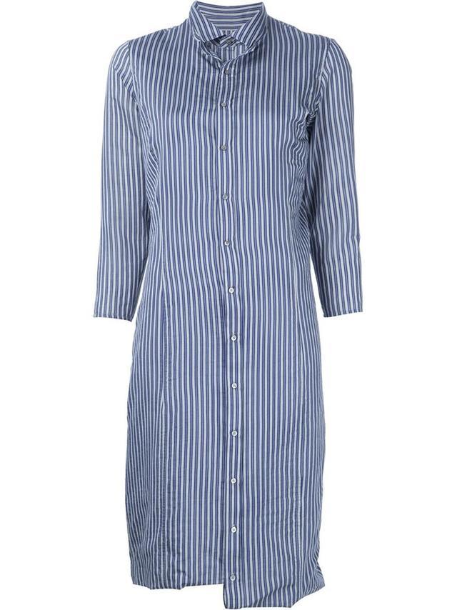 A.F.Vandevorst Decay'Striped Shirt Dress