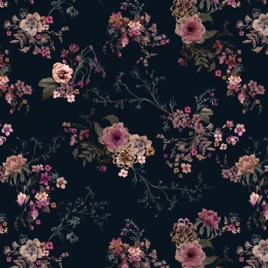 Casey Saccomanno Japanese Boho Floral Print