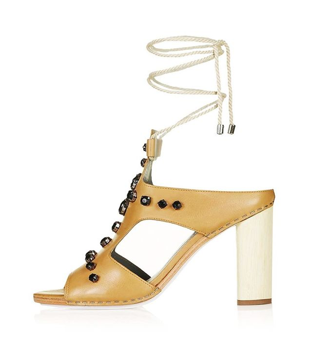 Topshop Limited Edition PEARL High Sandals