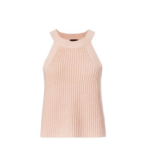 High Neck Knit Cami