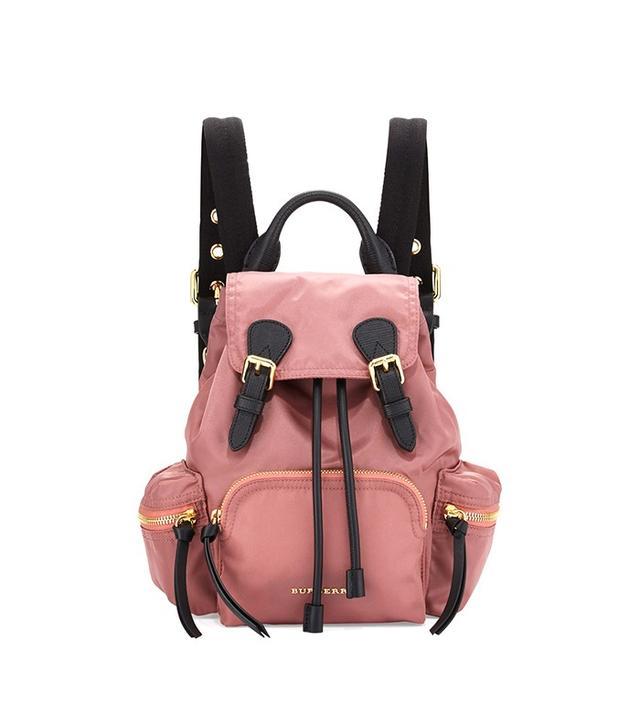 Burberry Runway Small Rucksack Nylon Backpack
