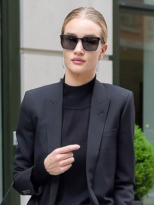 Rosie Huntington-Whiteley Just Gave Us the Best Interview Outfit Inspo