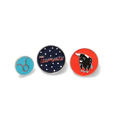 Taurus Horoscope Pin Set
