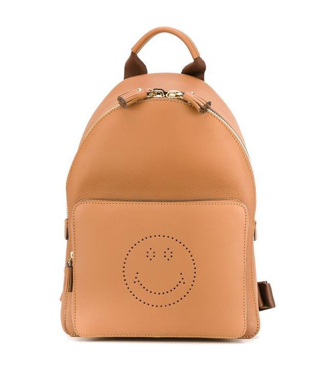 Anya Hindmarch Mini Smiley Backpack