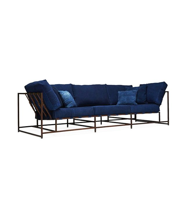 Stephen Kenn Inheritance Indigo Sofa