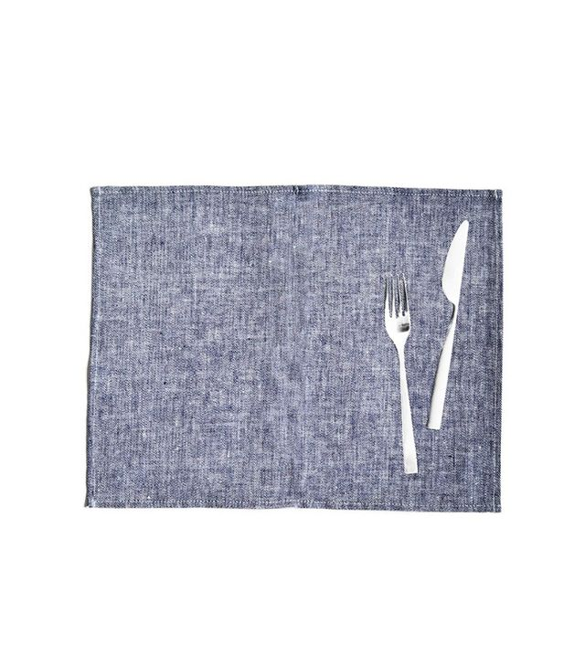Trnk Linen Denim Placemats