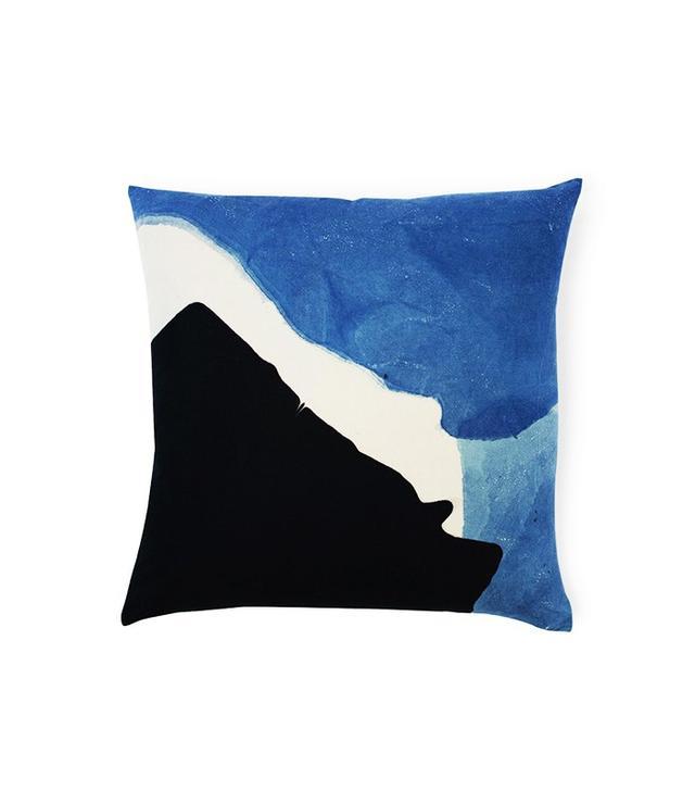 Topo Hand-Dyed Indigo Pillow