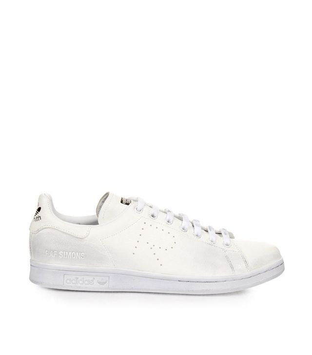 Raf Simmons x Adidas Stan Smith Low-Top Leather Trainers