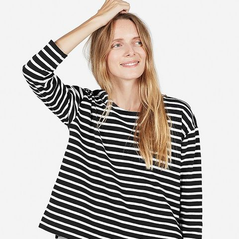The Boxy Striped Tee