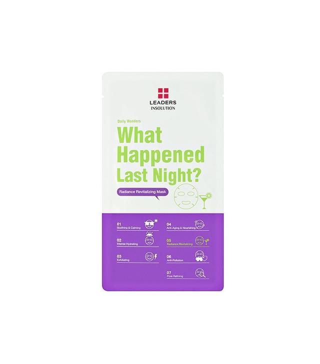 Leaders Daily Wonders What Happened Last Night Revitalizing Mask