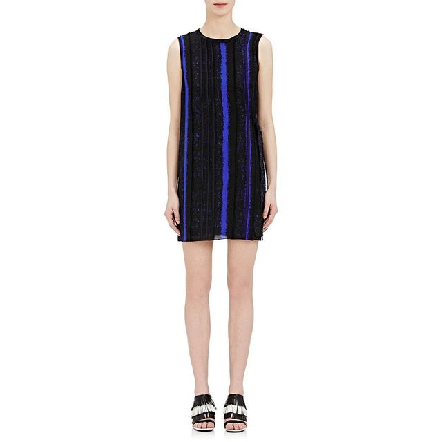 Proenza Schouler Punch-Needle-Print Sleeveless Dress