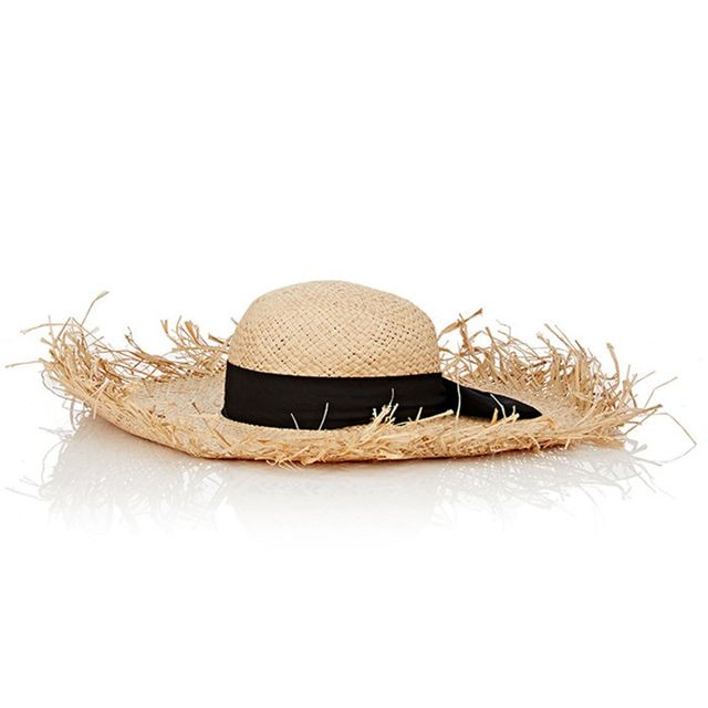 Barneys New York Bow-Embellished Sun Hat