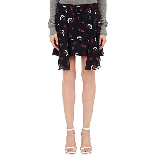 A.L.C. Daro Belted Skirt