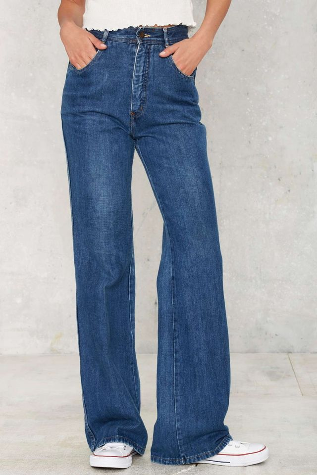 Vintage Flare for You High Waisted Jeans