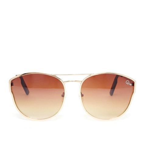 Cherry Bomb Round Metal Mirror Sunglasses