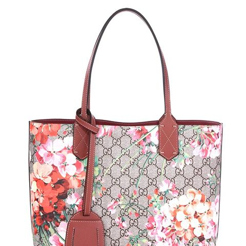 GG Blooms Small Reversible Tote