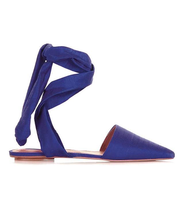 Topshop Khloe Ankle Tie Shoe