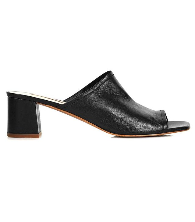Topshop Nino Soft Unlined Mules