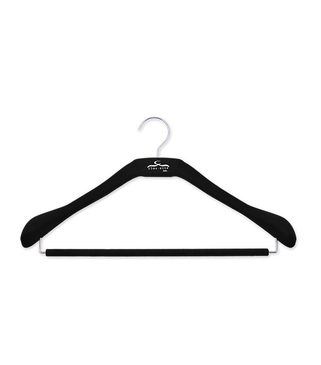 Clos-ette Deluxe Signature Slim Coat Hanger With Bar