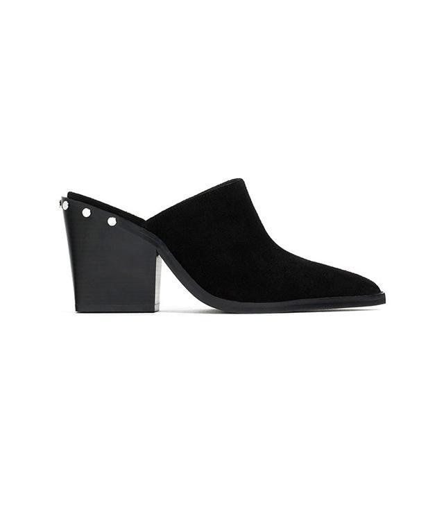 Zara High Heel Mule Shoes