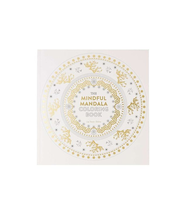 The Mindful Mandala Coloring Book: Inspiring Designs for Contemplation, Meditation and Healing by Lisa Tenzin-Dolma
