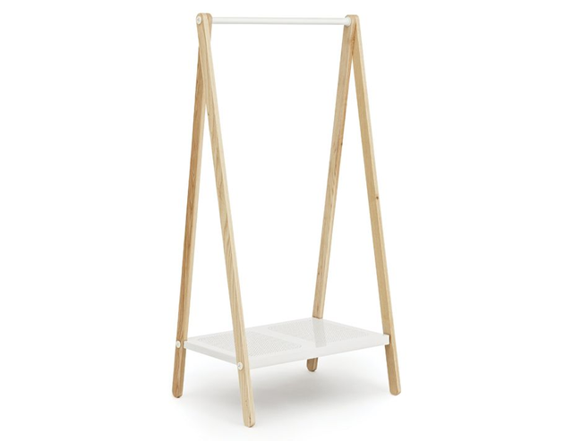 Toj White Small Toj Clothes Rack by Simon Legald for Normann Copenhagen