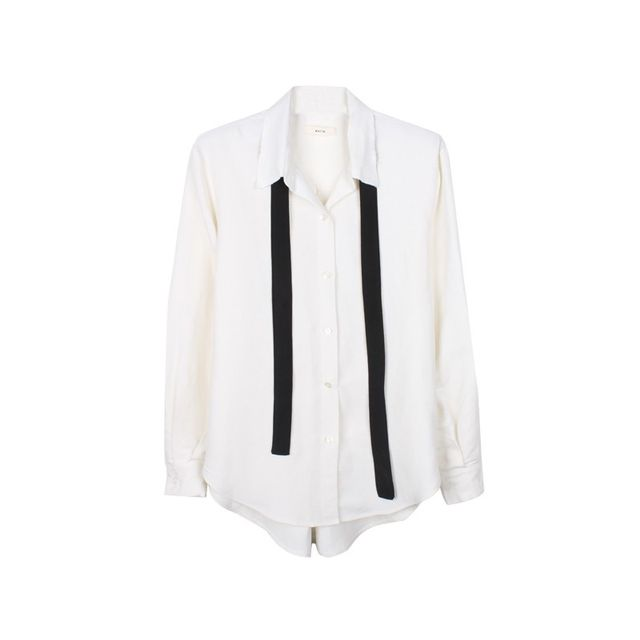 Matin Shirt With Neck Tie