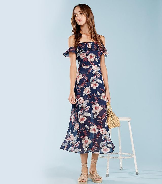 Reformation Hydrangea Dress
