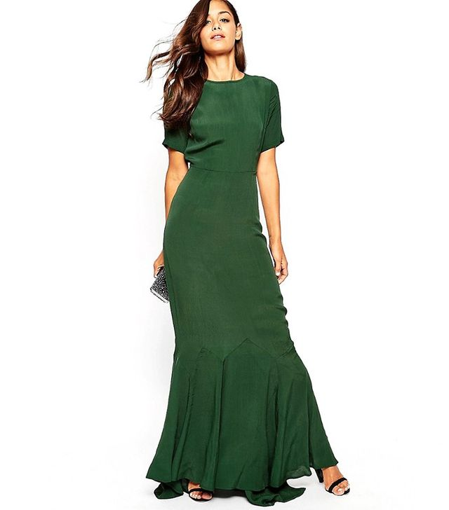 ASOS Fishtail Maxi Dress